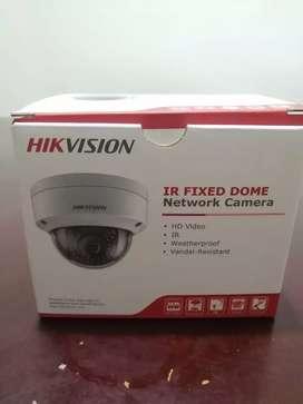 Cámara de red HD hikvision tipo domo (Nueva)