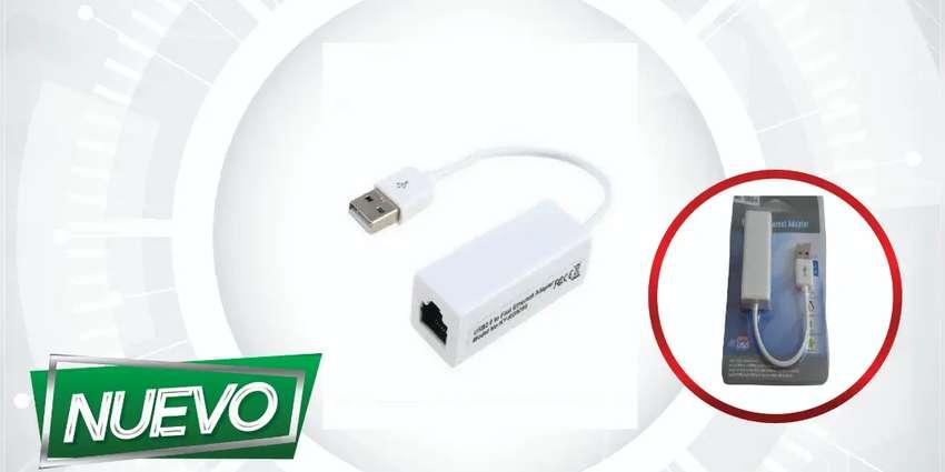 USB 2.0 ETHERNET ADAPTADOR DE RED ¡DOMICILIO GRATIS BAJO COSTO!