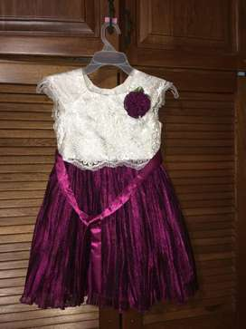 Vestido Importado de 5 a 7 Años