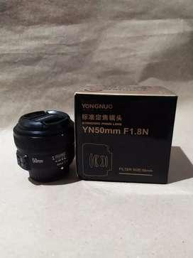Objetivo Yn 50mm/F1.8 Nikon