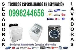 Mantenimiento reparacion de lavadoras secadoras Whirlpool mabe samsung LG MAYTAG