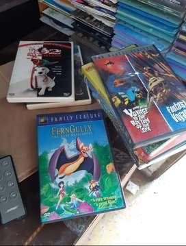 DVDs originales infantiles a 9000