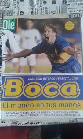 Revista Ole Boca Vs Real Madrid Campeón Del Mundo!!
