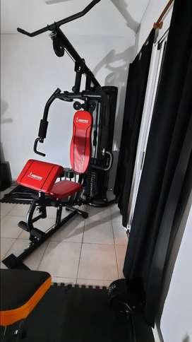 Excelente gimnasio y completo para tu hogar o salon