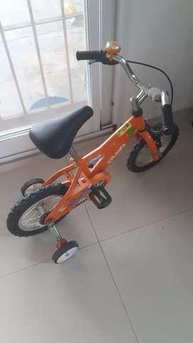 Bici para niños con poco uso