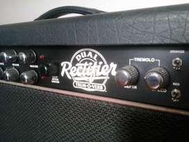 Mesa Boogie Dual Rectifier Trem o Verb Combo 2x12 Celestion Vintage 30