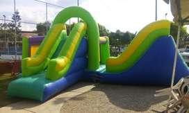 alquiler de parque inflable brinki brinqui, piñatas decoracion sonido piscinadas