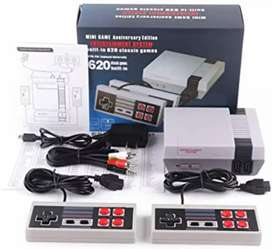 Consola Nintendo mini 2 controles 620 juegos incorporados