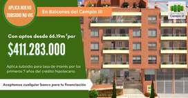 Apartamentos Campin Bogotá Nuevos Constructora NO VIS