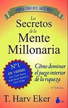 Libro Los Secretos de la mente millonaria, Piensa como rico, hazte Rico