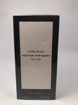 Perfume Narciso Rodríguez pure musc for her