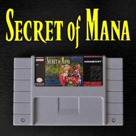 Juego SECRET OF MANA para Super Nintendo SNES
