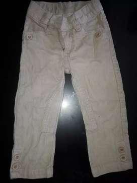 Pantalón de cordero y talle 2
