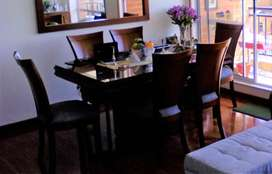 vendo juego de comedor (mesa y 6 sillas)