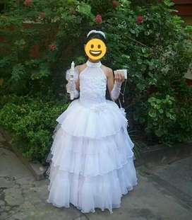 Vestido de Primera Comunion Convertible