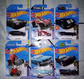 Hot wheels temáticos