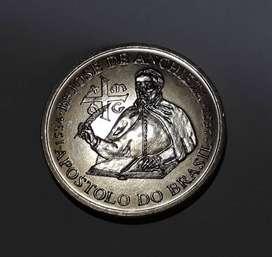 Moneda portuguesa grande, 200 escudos, 1997, XF