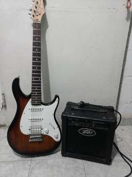 Guitarra peavey raptor plus más amplificador