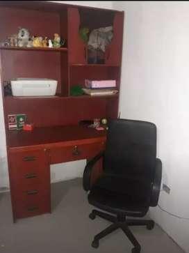 Mueble oficina más silla