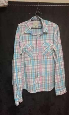 Camisa   manga larga  talla  L