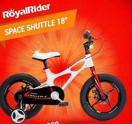 "Bicicleta royal aro 18"""