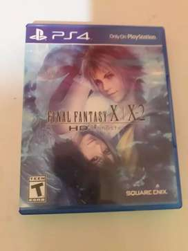 JUEGO FISICO PLAY 4 FINAL FANTASY X/X2 HD REMASTER