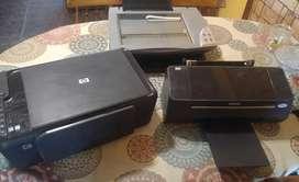3 impresoras para respuesto