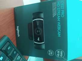 Cámara Logitech pro stream Webcam Full HD