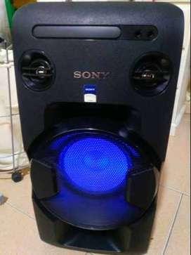 Minicomponente Sony Mhc-v11 de alta potencia, igual a nuevo!!41!