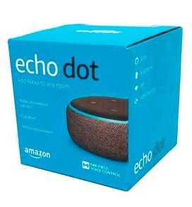 Echo dot Amazon Alexa 3ra generación - parlante inteligente