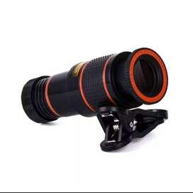 Lente Telescopio para celular Zoom 12x