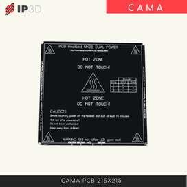 Cama PCB 215 x 215 para impresora 3D