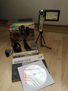 Video Cámara Digital Genius Como Nueva