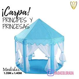 Carpa principes  y princesas
