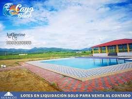 ¡LOTES EN LIQUIDACIÓN.!! CAYÓ BEACH SOLO PRECIOS DE CONTADO EN MANABI | SD2