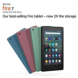 Tablet Amazon Fire 7, 16gb Nuevo y Sellado con Alexa