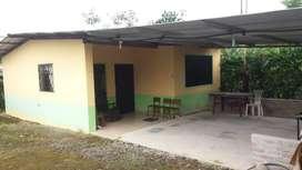 Vendo Casa con terreno en el canton Pedro Vicente Maldonado 200m