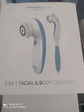 TOUCHBeauty facial cleansing brush&body brush 2 in 1 face and shower back brush TB-07599