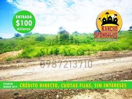 CON 100 USD DE ENTRADA OBTEN TU LOTE CAMPESTRE EN QUINTAS RANCHO SPONDYLUS A 40 MINUTOS DE MANTA MANABI,!!APRESURATE¡¡S1