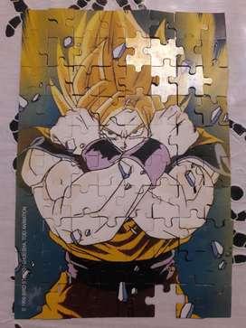 Rompecabezas Puzzle Dragon Ball Z De Colección!!!