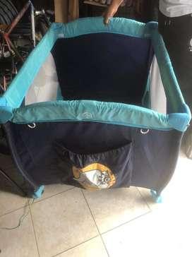 Corral para bebé azul NEGOCIABLE