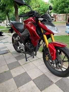 Honda cb190r impecable,igual a 0km