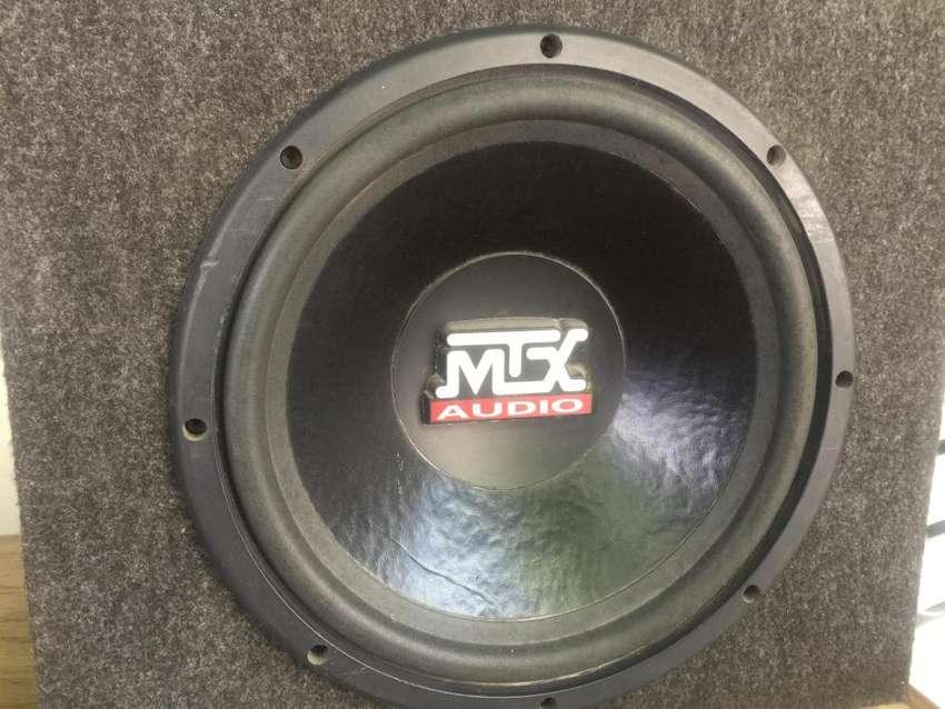 """subwoofer MTX 10"""" thunder 4000 0"""
