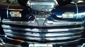VENDO COUPE FORD, 1946, COLA LARGA, TOTALMENTE ORIGINAL.-