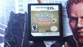 Cartucho pokemon heart gold nds
