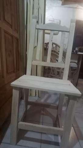 Vendo sillas nuevas