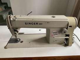 Maquina plana de coser SINGER