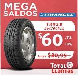 LLANTAS 205/60R15 TRIANGLE TR928