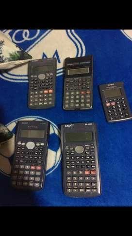 Calculadoras marca cassio