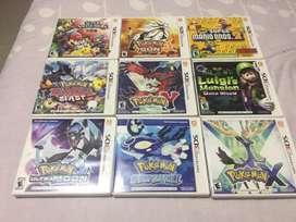 Se venden juegos de nintendo 3DS